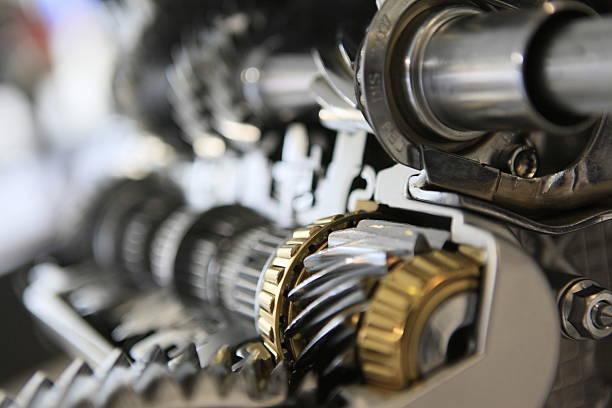 car gear set close up